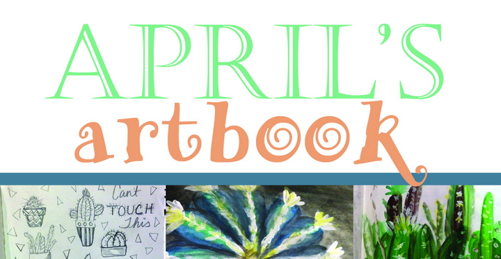 April's Artbook : Cacti