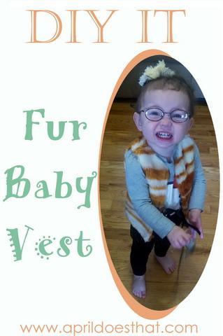 DIY Fur Baby Vest