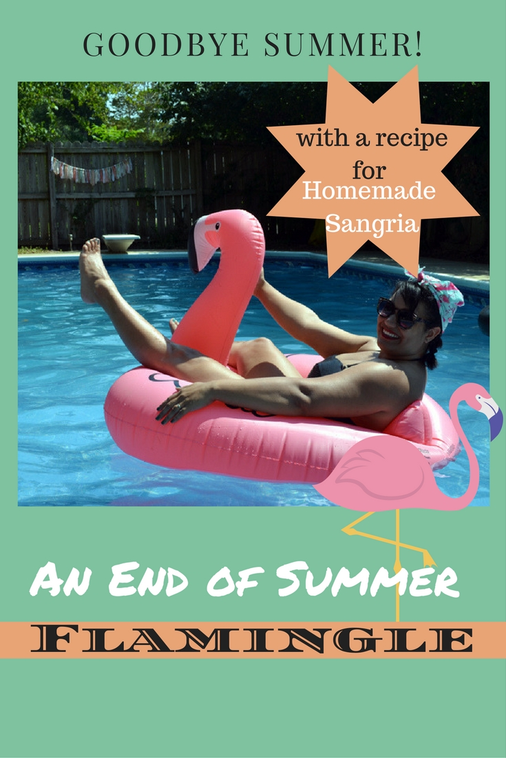 An End of Summer Flamingle