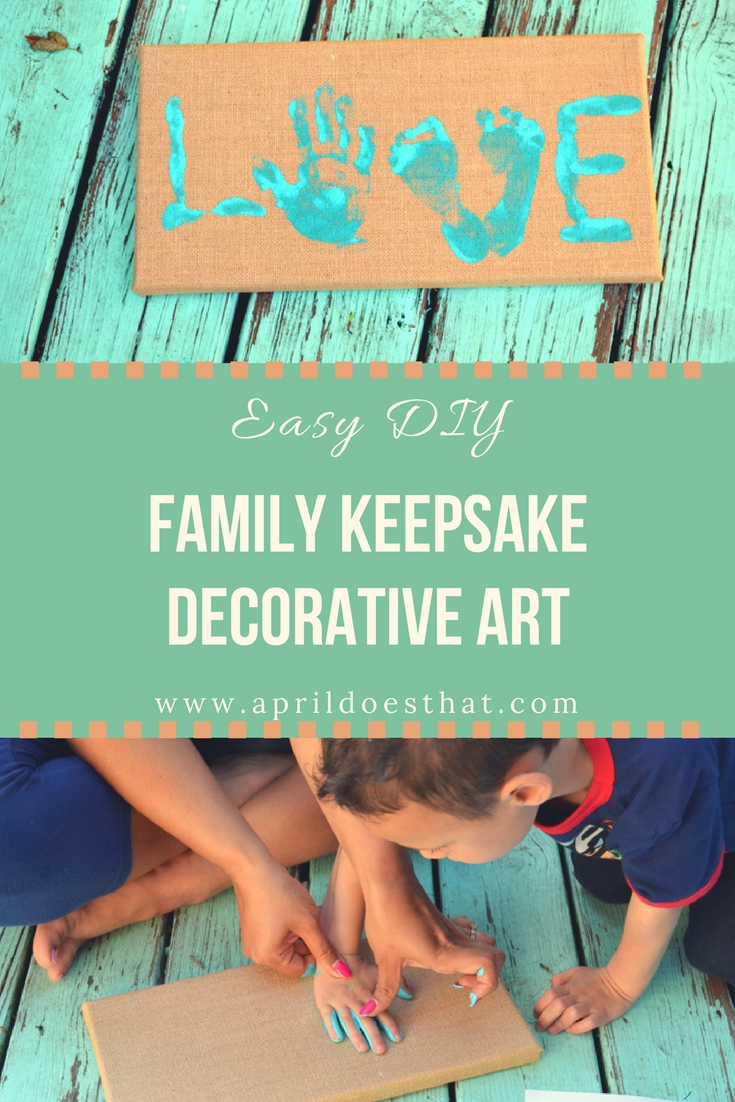 Family Keepsake Decor Art