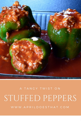 Tangy Stuffed Peppers