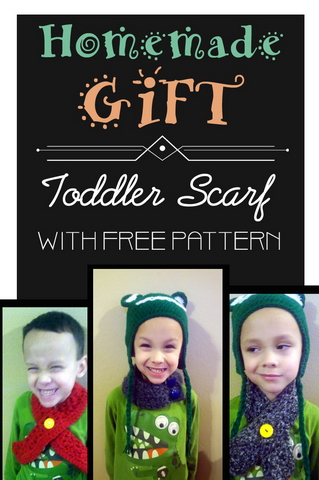 Homemade Gift: Toddler Scarves